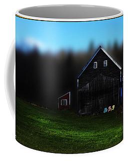Light Fades On Broadacres Farm Coffee Mug