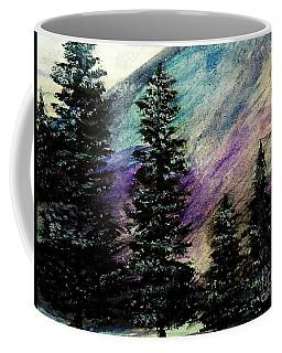 Dusk On Purple Mountain Coffee Mug