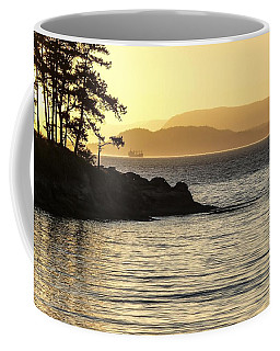 Dusk On Sucia Island Coffee Mug