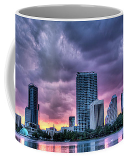 Dusky Downtown Orlando, Florida Coffee Mug