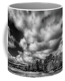 Coffee Mug featuring the photograph Dusting Of Snow On The River by David Patterson