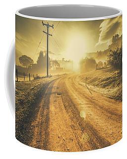 Dusty Small Town Road Coffee Mug