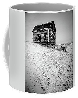 Dutch Barn In Winter Coffee Mug