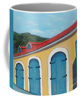 Dutch Doors Of St. Thomas Coffee Mug