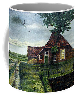 Dutch Farm At Dusk Coffee Mug