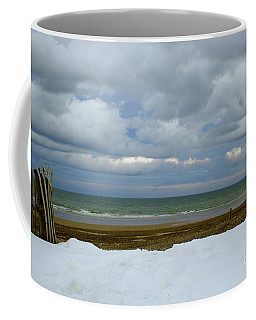 Duxbury Beach 3rd Crossover Coffee Mug by Amazing Jules