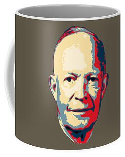 Dwight D. Eisenhower Pop Art Coffee Mug