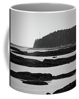 Coffee Mug featuring the photograph Dwon East Maine  by Trace Kittrell