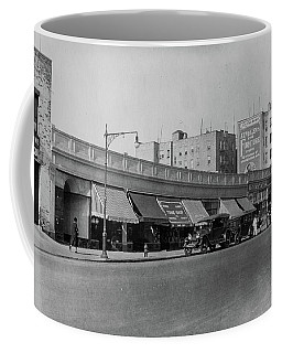 Coffee Mug featuring the photograph Dyckman Street, 1927 by Cole Thompson