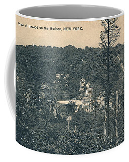 Dyckman Street At Turn Of The Century Coffee Mug
