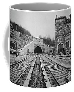 Coffee Mug featuring the photograph Dyckman Street Station by Cole Thompson