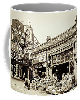 Coffee Mug featuring the photograph Dyckman Theater, 1926 by Cole Thompson
