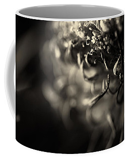 Faded Chrysanthemum Flower Abstract Print Coffee Mug