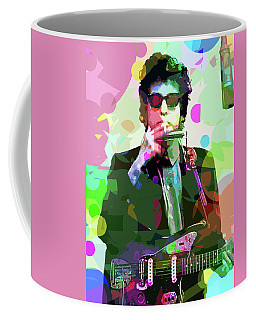 Dylan In Studio Coffee Mug