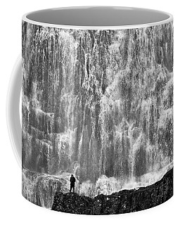 Coffee Mug featuring the photograph Dynjandi Daredevil No. 2 by Joe Bonita