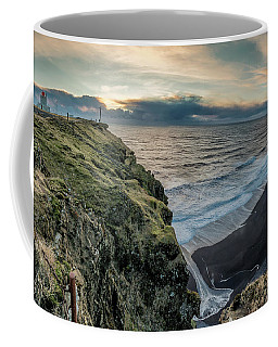 Dyrholaey Light House Coffee Mug