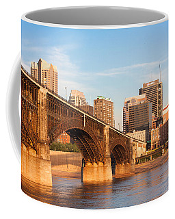 Eads Bridge At St Louis Coffee Mug