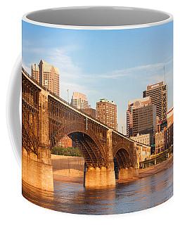 Eads Bridge At St Louis Coffee Mug by Semmick Photo