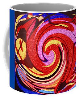 Coffee Mug featuring the digital art Eagle And Bear by Ian  MacDonald