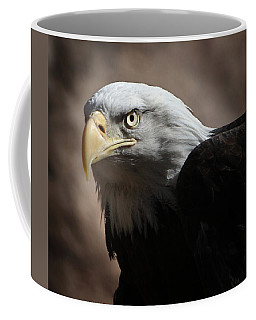 Coffee Mug featuring the photograph Eagle Eyed by Marie Leslie