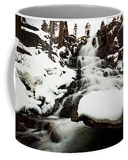 Eagle Falls Raging On Ice Coffee Mug