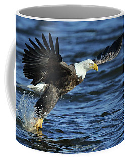 Eagle Fish Grab Coffee Mug