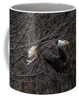 Eagle Fisher Coffee Mug by Ray Congrove