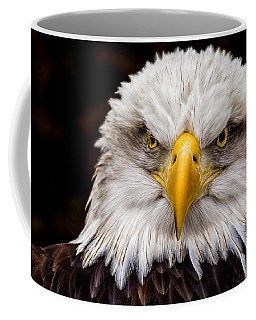 Defiant And Resolute - Bald Eagle Coffee Mug