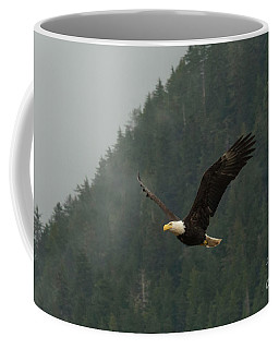 Eagle In Sitka Alaska Coffee Mug