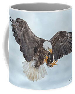 Eagle In The Clouds Coffee Mug