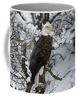 Eagle In Winter Coffee Mug