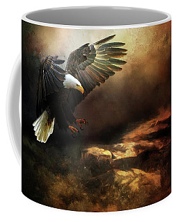 Eagle Is Landing Coffee Mug