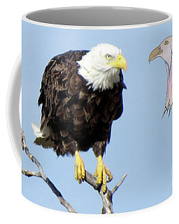 Eagle Reflection Coffee Mug