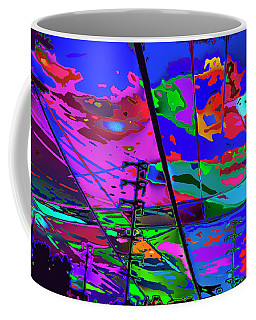 Eagle Rock Back Yard Coffee Mug