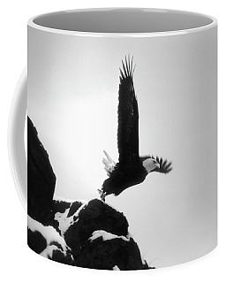 Eagle Takeoff At Adak, Alaska Coffee Mug
