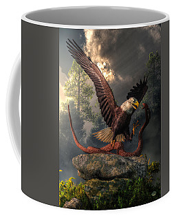 Eagle Vs Cobra Coffee Mug