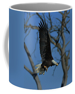 Eagle With Fish Coffee Mug