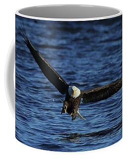 Eagle With Talons Up Coffee Mug