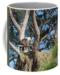 Eagle's Nest  Coffee Mug by Ronald Lutz