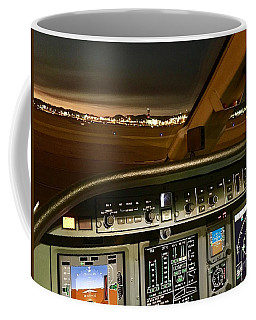 Coffee Mug featuring the photograph Early Am At Las Vegas by James Weatherly