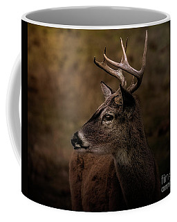 Coffee Mug featuring the photograph Early Buck by Robert Frederick