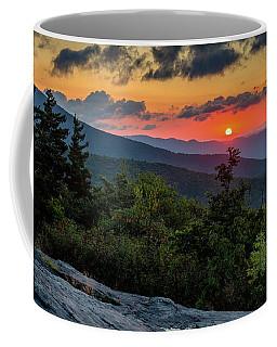 Blue Ridge Parkway Sunrise - Beacon Heights - North Carolina Coffee Mug
