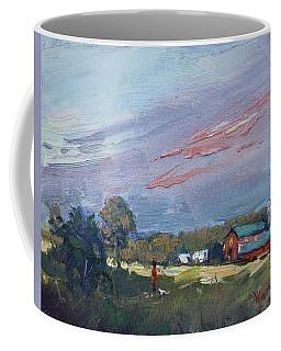 Early Evening At Phil's Farm Coffee Mug