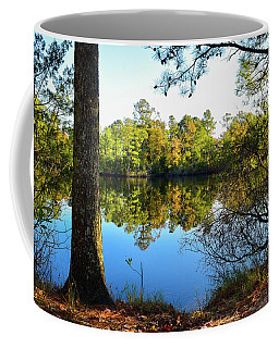 Coffee Mug featuring the photograph Early Fall Reflections by Nicole Lloyd