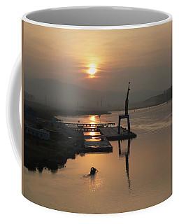 Early Hour On The River Coffee Mug