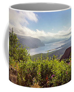 Early In Morning At Crown Point Oregon. Coffee Mug