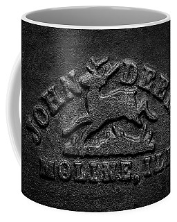 Early John Deere Emblem Coffee Mug