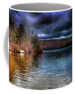 Coffee Mug featuring the photograph Early May On Limekiln Lake by David Patterson