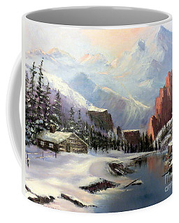 Early Morning In The Rocky Mountains Coffee Mug