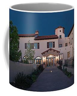 Early Morning At La Posada Coffee Mug by Charles Ables